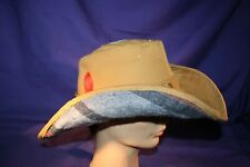 Carhartt Cowboy Hat size XXL or 7-3/4 handmade tan lined formable duck fedora