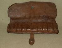 Cartouchière de ceinture en cuir ( fin XIXe ) , collection , chasse .