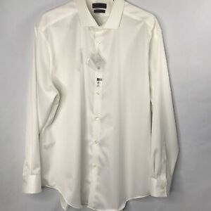 Calvin Klein Slim Fit Men's  Button Shirt  size 17 1/2 32/33 New With Tags