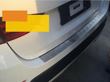 Stainless Rear  Bumper Protector Tread Sill Plate(Outside) for 2010-2017 BMW X1