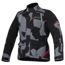 Giacche coperture rossi regolabili per motociclista
