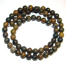 GR453j Africa Agate 6mm Round Gemstone Beads 16""