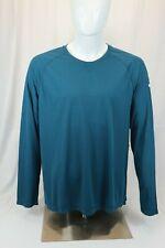ASICS Men's Lite-Show High Visibility Favorite Long Sleeve Top XL Blue