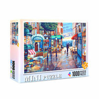 1000 Pieces Adult Puzzles Jigsaw Toys Town Street After Rain Growups Puzzle DIY