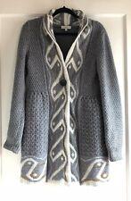 Essentiel Antwerp Cardigan Sweater Coat Jacket Knit Alpaca Wool Size M Italy