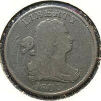 1803 1/2C Draped Bust Half Cent (54821)