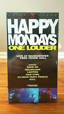 Happy Mondays One Louder VHS Live At Manchester Free Trade Hall SEALED