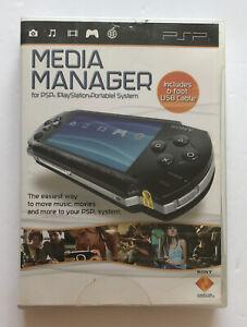 Media Manager For PSP UMD PlayStation Portable System