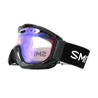 Smith Skibrille Knowledge OTG M006099AL99ZF Schwarz Blau Sensor Spiegel