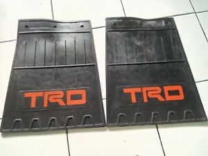 TRD Mud flaps Mud guard Splash Guard TOYOTA rear or front mudflap mudguard 2 pcs