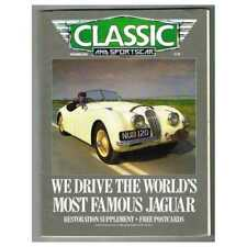 Classic and Sportscar Magazine December 1988 MBox3317/E We drive the world's mos
