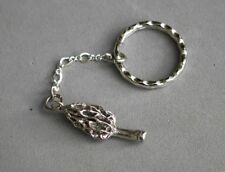Key Chain Morels Sterling Silver Morel Mushroom