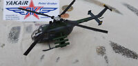 1x MBB Bo 105 Bundeswehr HELIKOPTER  Helicoptere  Metall 1:72 / Diecast