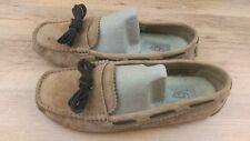 UGG Australia Meena Sheepskin Tan Suede  Women flat shoes uk 6.5