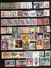 100-Different-Vintage-US-Cancelled-Postage-Commemorative-Stamp-Collection-Lot-15