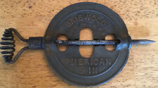 VINTAGE GRISWOLD AMERICAN 5 INCH CAST IRON SPINDLE REVERSIBLE STOVE DAMPER 525A
