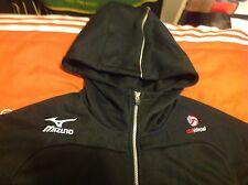 Men's Mizuno USA Volleyball National Team hooded jacket Japan Sz Jaspo XO