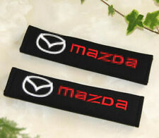 2PCS Car Seat Belt Shoulder Pads Cover Soft Comfortable Cushion fit for Mazda