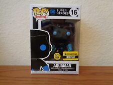 Justice League Aquaman Silhouette Glow in Dark Funko PoP Exclusive Vinyl Figure