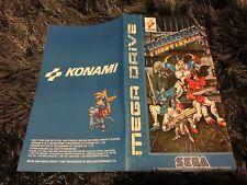 Color Custom Manual PROBOTECTOR SEGA Mega Drive PAL Version - AAA+++