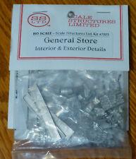 SS Ltd. HO #7203 General Store (Interior & Exterior Details)