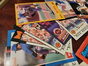 110+ baseball, football, basketball, hockey cards lots of rookie & first cards