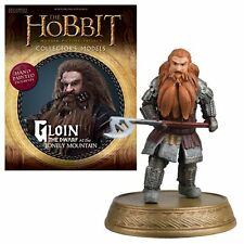 Eaglemoss * Gloin * #24 Dwarf Figurine & Magazine Hobbit Lord of the Rings LOTR