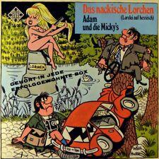 "7"" Adam e la Micky's il nackische lorchen/John Browns Vadder TELEFUNKEN 1968"