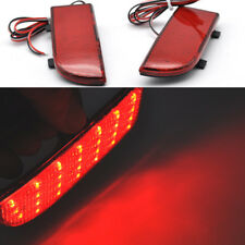 2x Red Rear Bumper Fog led Reflector For Mercedes Viano / V-Class W639 2003-2014
