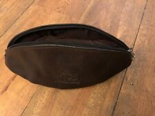 Bath rugby ball wash bag, Real Leather Brand New