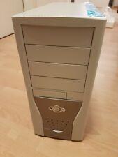 Chenbro PC611 beige/silber ATX Midi Tower inkl. 400 Watt Netzteil