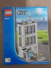 INSTRUCTION BOOK 5 ONLY 60047 LEGO CITY POLICE JAIL CELLS  MANUAL BOOK