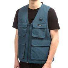OBEY Men's UNDERTONE Vest - Sapphire - Medium - NWT