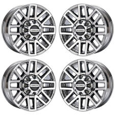 """20"""" FORD F250 F350 TRUCK PVD CHROME WHEELS FACTORY OEM 2018 SET 4 10104 EXCHANGE"""