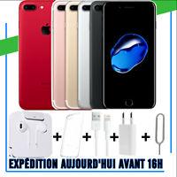 IPhone 7 Plus 32GB 128GB Smartphone Apple Débloqué Opérateur Ecouteur + Chargeur