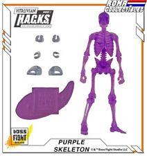 """Boss Fight Studios - SKELETON Clear Purple - Vitruvian HACKS 4"""""""