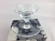 EGG CUP bowl  PER LUTKEN Holmegaard Clear Glass