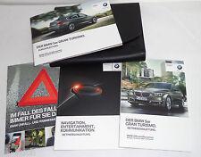 Bordmappe mit Betriebsanleitung BMW 5er Gran Tourismo Stand 2014