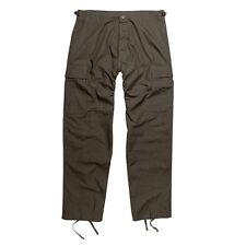 Pantalon BDU rip stop armée militaire airsoft outdoor sécurité - Vert olive