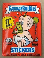 Garbage Pail Kids Series 11 sealed wax pack 1987 Topps nice condition