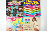 4 Alben Stars und Powerhits Top Hits Rock House Hit Action (LPK213)
