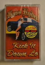 bass ryder cassette kick it down lo  1995   sealed/new