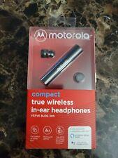 Motorola Verve Buds 300 Compact True Wireless In-ear Headphones Black