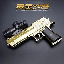 Gold Plastic toy guns Manual Water bombs Soft play Gun children toy guns