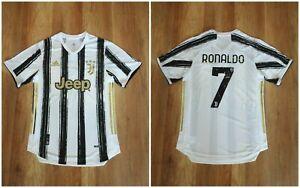 JUVENTUS 20/21 HOME ADULT  Adidas shirt jersey Size L soccer RONALDO (replica)