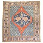 19th century Persian Bakshaish rug featuring a