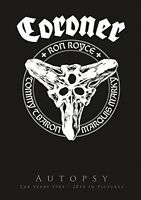 CORONER - AUTOPSY  3 DVD+CD NEW+