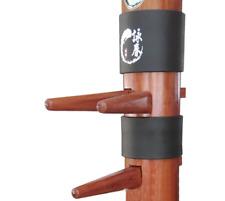 WuShu China Wing Chun Kung Fu Training Equipment 2pcs Wooden Dummy Protect Pads