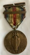 "WWI ""The Great War for Civilization"" Medal with Ribbon & FRANCE Bar"