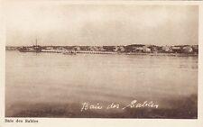 Quai de BAIE DES SABLES Quebec Canada 1930-40s Intaglio Gravure Ltd. Postcard 1